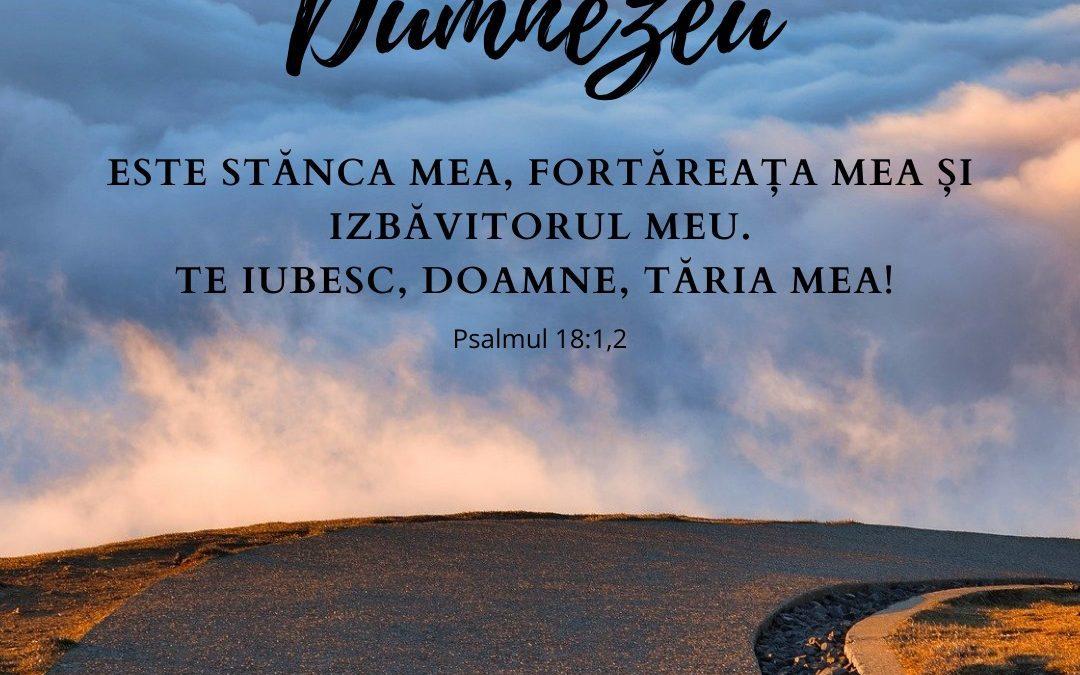 3 Octombrie 2020 | Psalmul 18:1,2